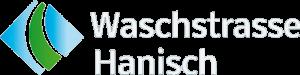 Waschstrasse Hanisch | Logo negativ