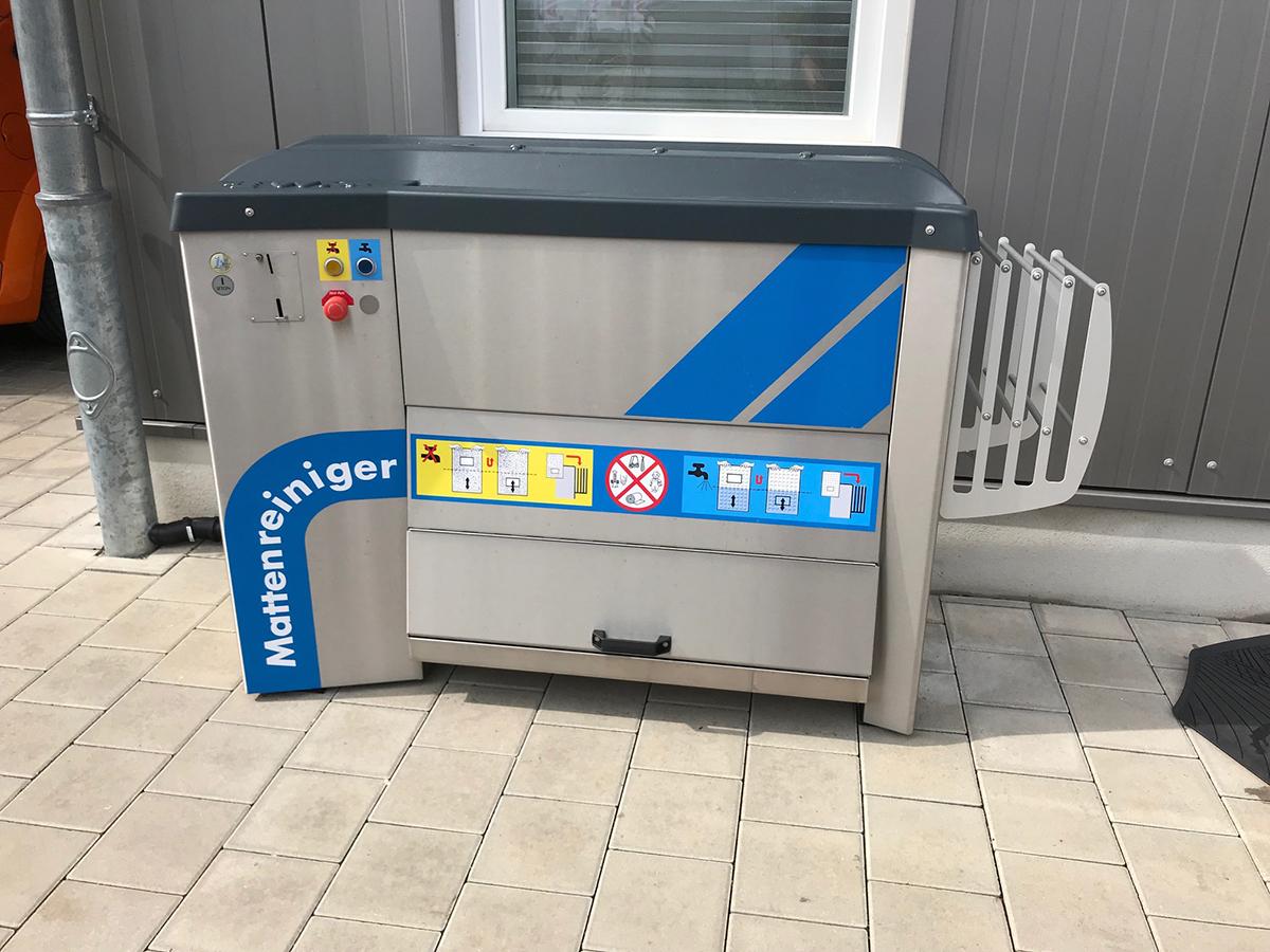 Waschstrasse Hanisch | Mattenreiniger